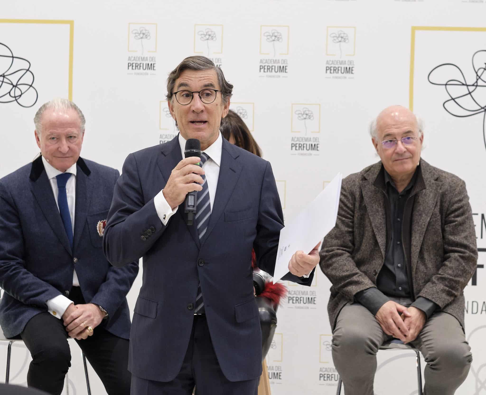 Entrevista a Juan Pedro Abeniacar en el marco de la cumbre de perfumistas