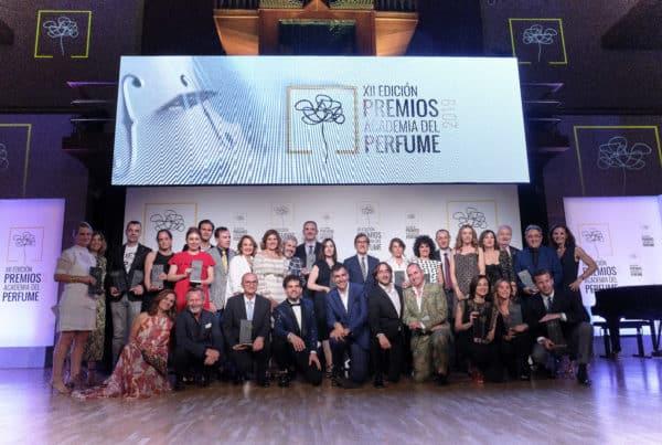 Ganadores y Jurado Premios Academia del Perfume 2019
