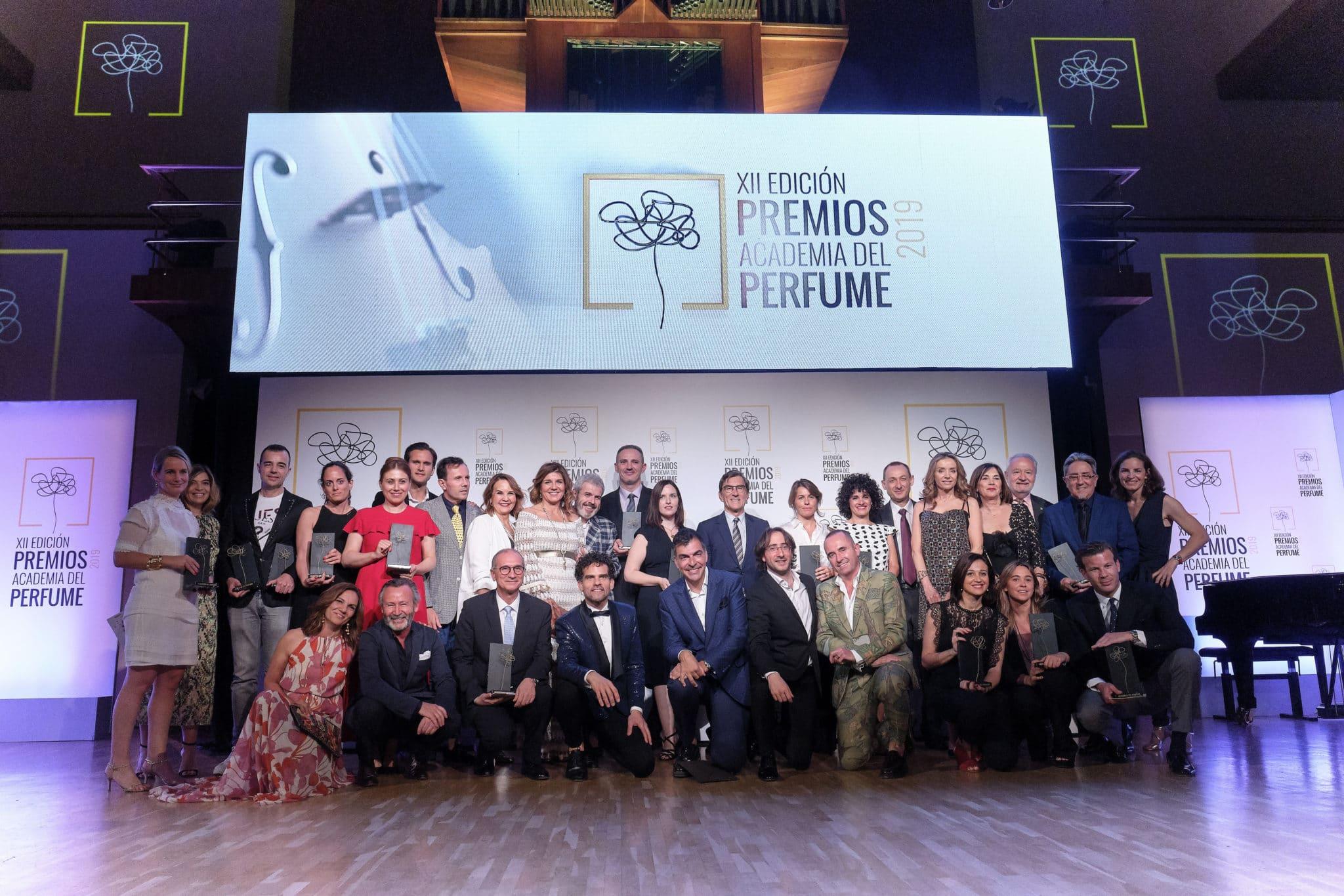 La Academia del Perfume entrega sus Premios a los Mejores Perfumes del Año