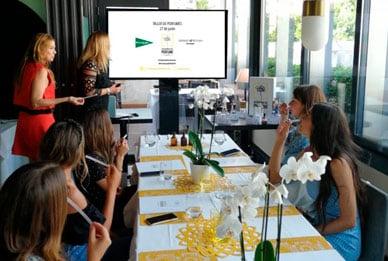 Taller de Perfumes para Influencers en el espacio Serrano 47 Woman de El Corte Inglés