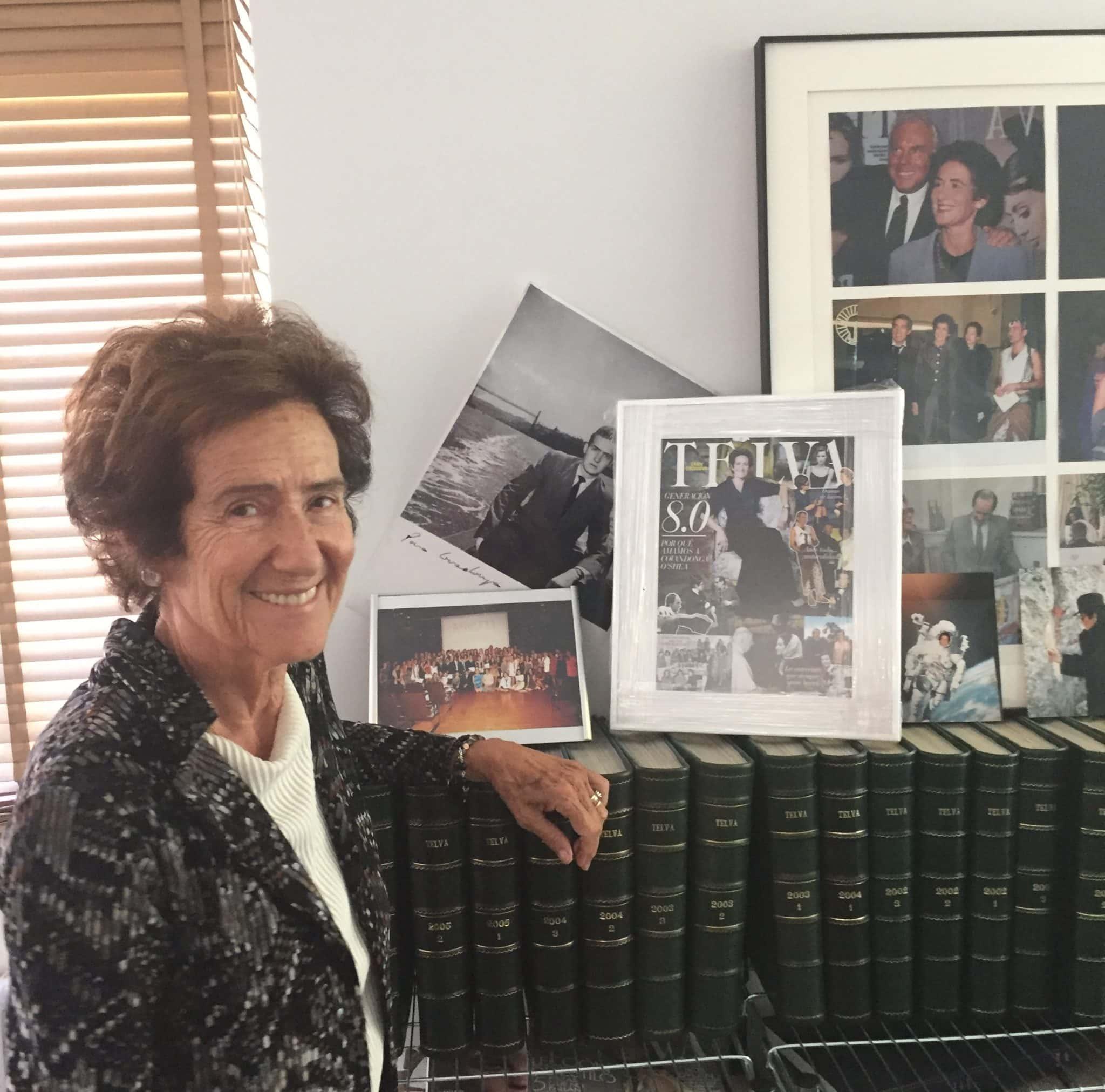 Encuentro con Covadonga O'Shea, Académica de Mérito y mujer 8.0