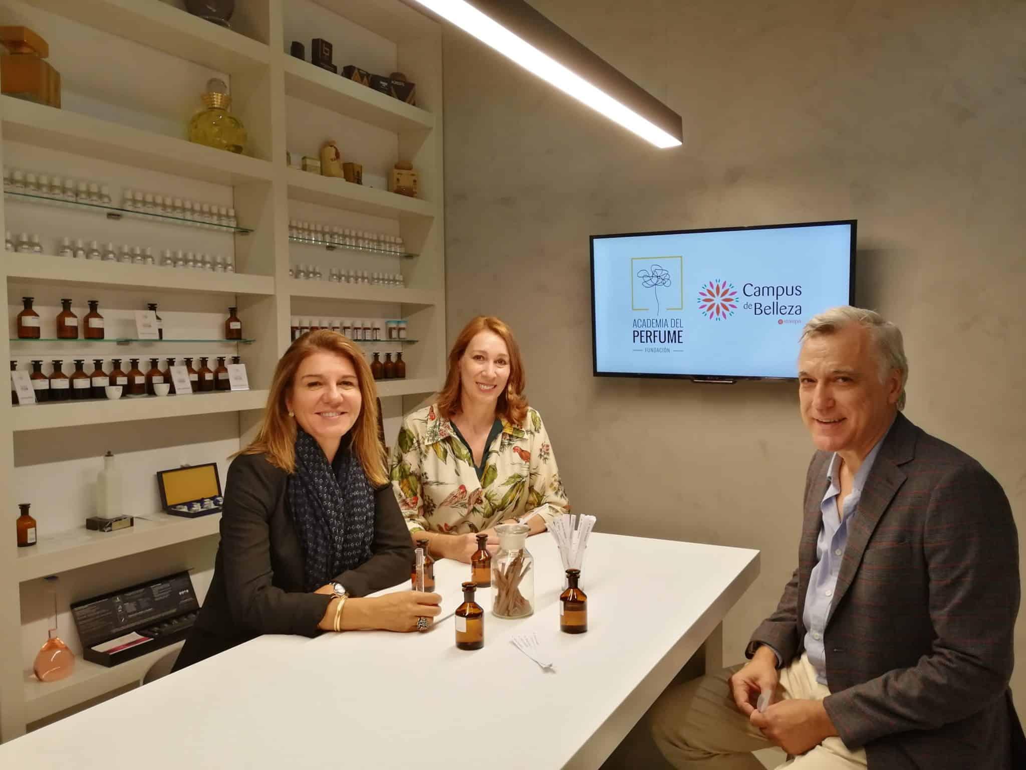 Alianza para la formación en perfume en punto de venta entre la Academia del Perfume y el Campus de Belleza Stanpa
