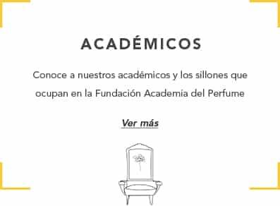 Académicos en la Academia del Perfume