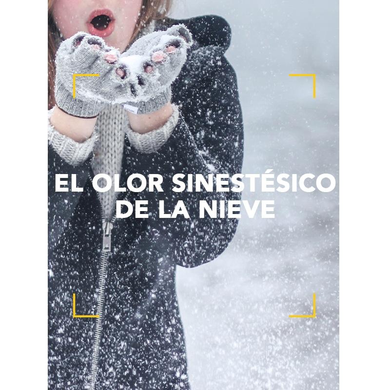 El olor sinestésico de la nieve