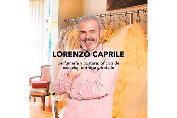 Charla Lorenzo Caprile: Perfume y Costura