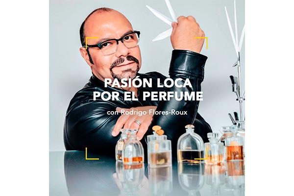 Charla Pasión loca por el perfume con Rodrigo Flores-Roux
