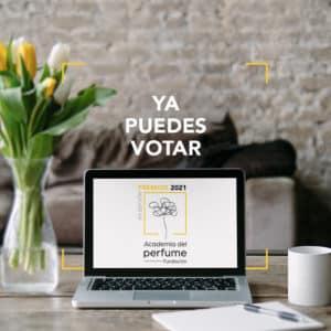 Abierta votación online Premios Academia del Perfume 2021