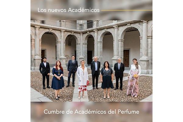 El who is who de los nuevos académicos del perfume