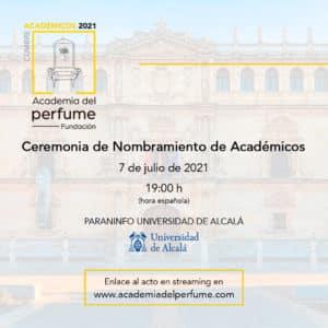 Invitación streaming Ceremonia de Nombramiento de Académicos