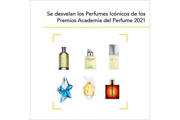 Los perfumes Icónicos de los Premios 2021