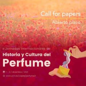Call for papers: II Jornadas Internacionales de Historia y Cultura del Perfume